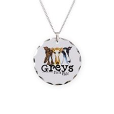 Greys Fan Funny Necklace
