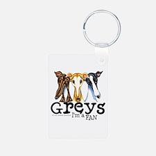 Greys Fan Funny Keychains