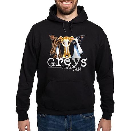 Greys Fan Funny Hoodie (dark)