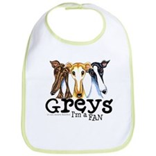 Greys Fan Funny Bib