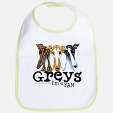 Greys Fan Funny Bib