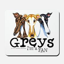 Greys Fan Funny Mousepad