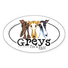 Greys Fan Funny Decal