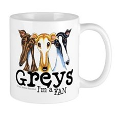 Greys Fan Funny Mug