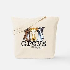Greys Fan Funny Tote Bag