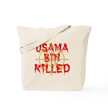 osama bin killed Tote Bag