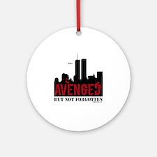 9/11 avenged not forgotten Ornament (Round)