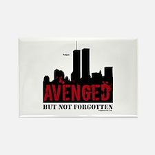 9/11 avenged not forgotten Rectangle Magnet