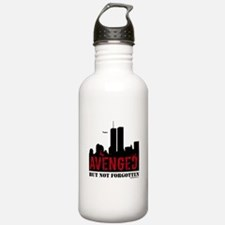 9/11 avenged not forgotten Water Bottle
