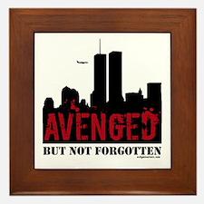 9/11 avenged not forgotten Framed Tile