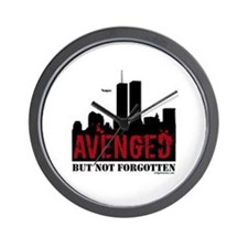 9/11 avenged not forgotten Wall Clock