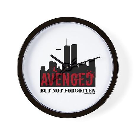 9/11 avenged not forgotten Wall Clock