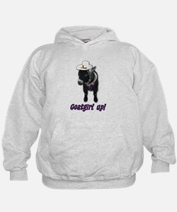 Pygmy Goat Girl Up Hoodie