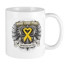 Child Cancer Hope Love Mug