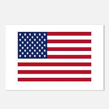 American Flag Postcards (Package of 8)