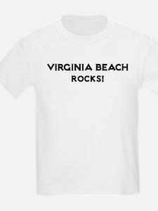 Virginia Beach Rocks! Kids T-Shirt