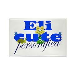 Cute Eli Rectangle Magnet (100 pack)