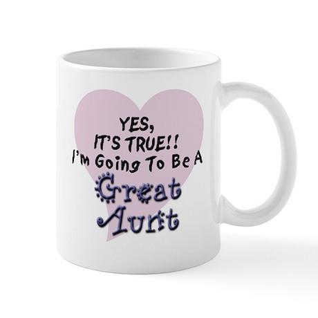 True Aunt To Be Mug