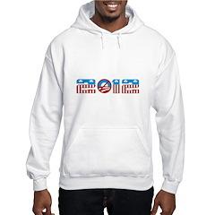 2012 no obama Hoodie
