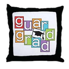 Guard Graduate Throw Pillow