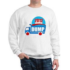 dump obama 2012 Sweatshirt