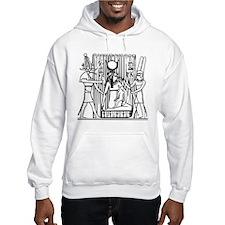 Tehuti, Ast/Isis, Amen-Ra Hoodie Sweatshirt