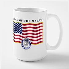 Rock of the Marne Large Mug