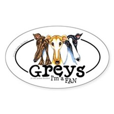 Greys Fan Funny Decal