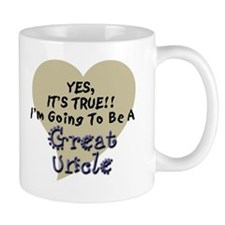True Great Uncle To Be Small Mug