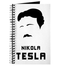 Nikola Tesla Silhouette Journal