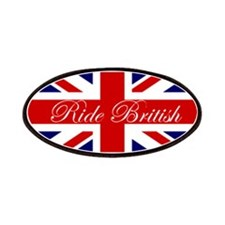 Ride British Patches