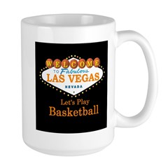 Las Vegas Let's Play Basket Ball Mug
