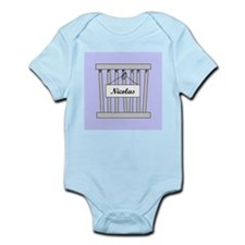 nicolas cage Infant Bodysuit