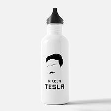Nikola Tesla Silhouette Water Bottle