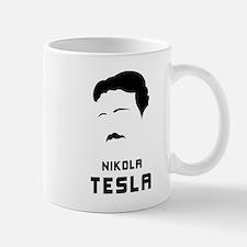 Nikola Tesla Silhouette Mug