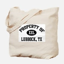 Property of Lubbock Tote Bag