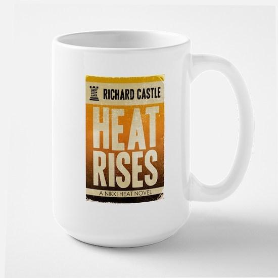 Castle Heat Rises Retro Large Mug
