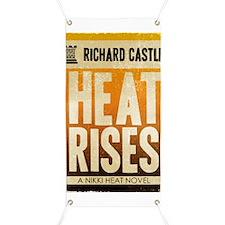 Castle Heat Rises Retro Banner