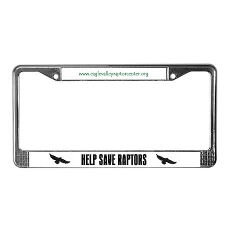 Eagle Valley License Plate Frame