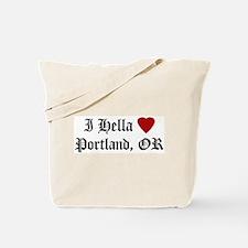 Hella Love Portland Tote Bag