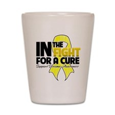Sarcoma In The Fight Shot Glass