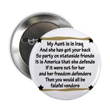 My Aunt Has Got Your Back Button