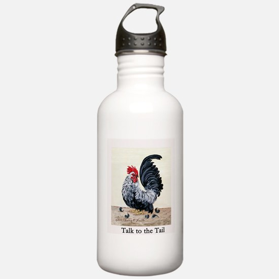 Chicken - Talk to the Tail Water Bottle