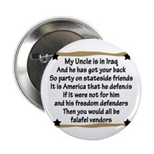 My Uncle has got your back Button