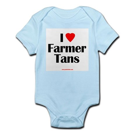 Farmer Tans Infant Creeper