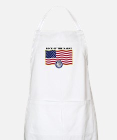 Rock of the Marne BBQ Apron