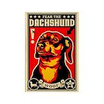 Fear the DACHSHUND Propaganda Magnet