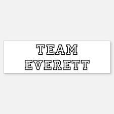 Team Everett Bumper Bumper Bumper Sticker