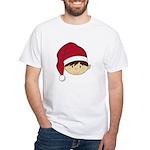 Cute Christmas Elf White T-Shirt