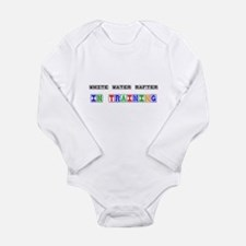 White Water Rafter In Training Body Suit